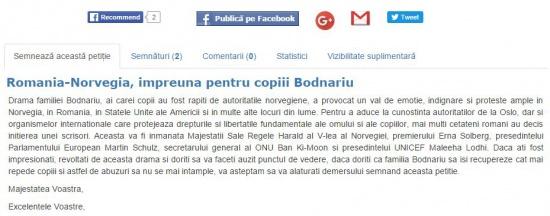 Petiție pentru salvarea copiilor familiei Bodnariu. Semnează și tu! 16