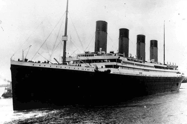 Titanic Rivets