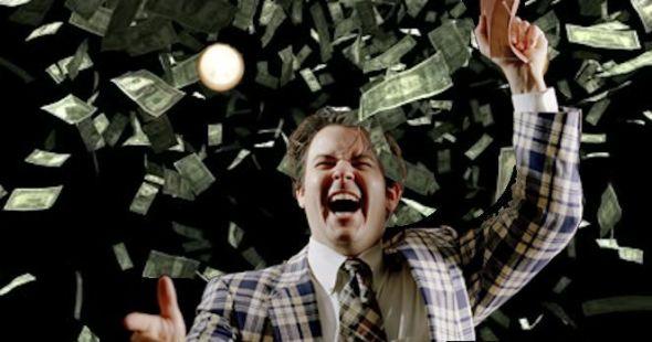preacher-with-raining-money